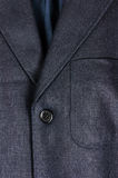 Blue linen jacket Stock Photo