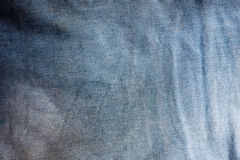 Blue Linen texture, abstract background Royalty Free Stock Photo