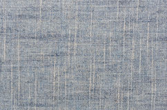 Blue linen texture background Stock Image