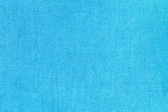 Blue linen texture for the background Stock Photography