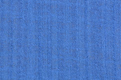 Blue linen texture background Stock Photos