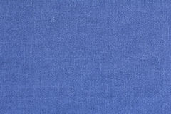 Blue linen texture background copyspace Royalty Free Stock Images