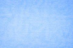 Blue linen texture background Stock Images