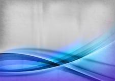 Blue lines backgroud Stock Photos