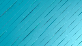 Blue lines background. 3D illustration Stock Photography