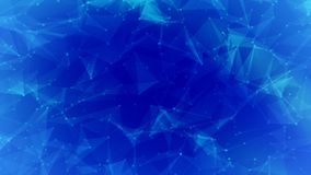Blue lines background for technology concept, abstract backgroun. D illustration Royalty Free Stock Image
