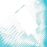 Blue Lines Blank Stock Photo