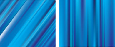 Blue lines gradient mesh blur backgrounds Stock Photography