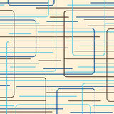 blue lines retro Στοκ Εικόνες