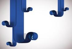 Blue lines shaving background. Royalty Free Stock Image