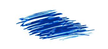 Blue lines and strokes. On a white background Royalty Free Stock Photos
