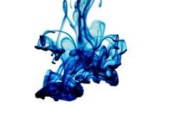 Blue liquid form Stock Images