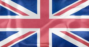 Great Britain, United Kingdom flag. The flag of England background stock illustration