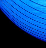 Blue lit curves Royalty Free Stock Photos