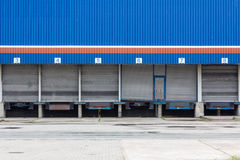 Blue Loading Dock Stock Photos