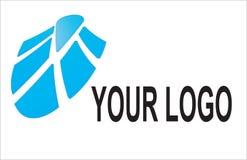 Blue logo  Stock Images