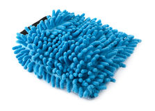 Blue loofah Royalty Free Stock Photo