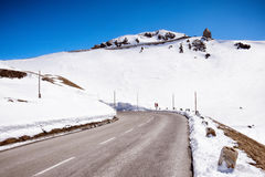 blue lotniczych chmura kraju otwartej panoramy Sycylii niebo drogowy Zdjęcie Stock