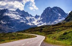 blue lotniczych chmura kraju otwartej panoramy Sycylii niebo drogowy Obraz Stock
