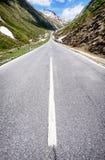 blue lotniczych chmura kraju otwartej panoramy Sycylii niebo drogowy Zdjęcia Royalty Free