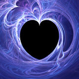 Blue love Royalty Free Stock Photography
