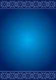 Blue Love background Royalty Free Stock Photo