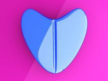 Blue Love Pill Royalty Free Stock Photo