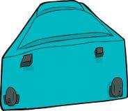Blue Luggage Suitcase Stock Image