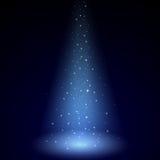 Blue Luminous Rays Royalty Free Stock Photography