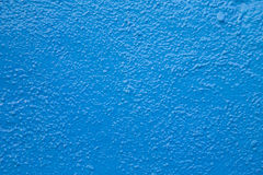Blue lumpy paint background Royalty Free Stock Photography