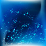 Blue luxury abstract backgrounds. Blue abstract backgrounds with white star shiny Stock Images