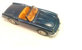 Blue luxury car Stock Photography