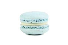 Blue macaron stock image