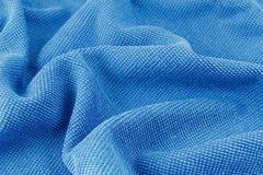Blue macro fiber Royalty Free Stock Images