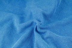Blue macro fiber Stock Photo