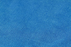 Blue macro fiber Royalty Free Stock Photo