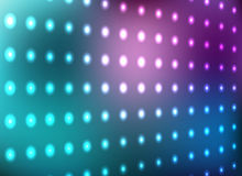 Blue and magenta light wall Stock Photos