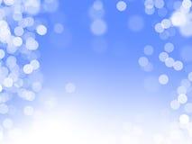 Blue magic background stock photo