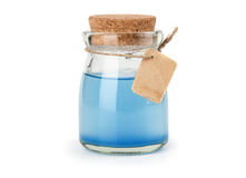 Blue magic potion Royalty Free Stock Photos