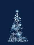 Blue Magic Tree Stock Image