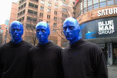 Blue Man Group Royalty Free Stock Photos