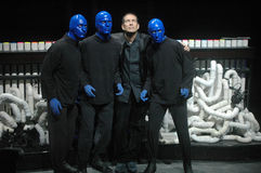 Blue Man Group Stock Photography