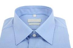 Blue man's shirt Stock Images