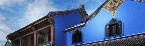 The Blue Mansion Royalty Free Stock Image