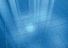 Blue Marble Floor Stock Photos