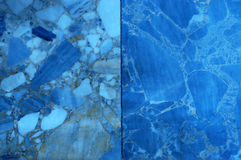 Blue marble texture background Stock Photo