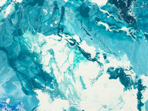 Blue marble texture. Royalty Free Stock Image