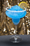 Blue margarita Cocktail Stock Images