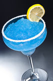 Blue margarita Cocktail Royalty Free Stock Photography
