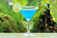 Blue margarita Royalty Free Stock Images